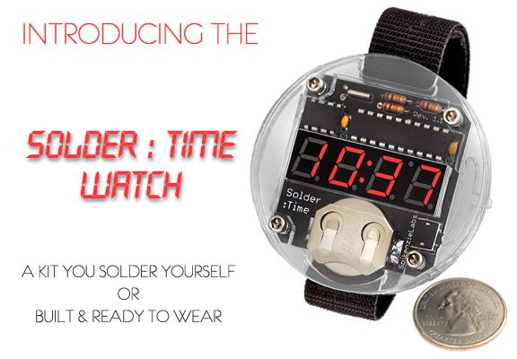 Solder : Time Watch