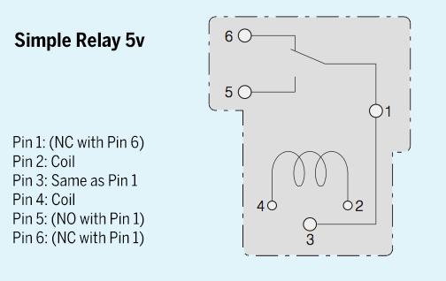 Simple 5v Relay SPL5VRELAY 175 SpikenzieLabs Original