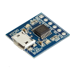 SpikenzieLabs Micro USB FTDI Buddy
