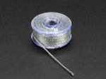 Stainless Thin Conductive Yarn / Thick Conductive Thread - 30 ft