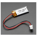 Lithium Ion Polymer Battery - 3.7v 100mAh
