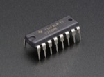 Dual H-Bridge Motor Driver for DC or Steppers - 600mA - L293D