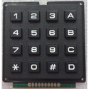 Keypad - 16 Keys - Black Keys
