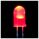 5mm LED RED - 25 Pack