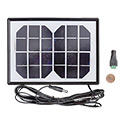 6V 2W Solar Panel + Screw terminal adapter