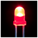 3mm LED RED - 25 Pack