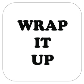 Wrap It Up Box - Panneau de message avant