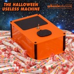 The Halloween Pumpkin Orange Useless Machine