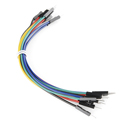 "Jumper Wires Premium 6"" M/M - 20 AWG (10 Pack)"