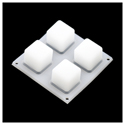 Bouton Pad 2x2 - LED Compatible