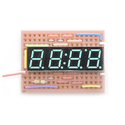 4-Digit 7-Segment Display - Blue