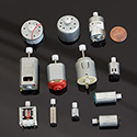 12 Kinds of DC motors - Assorted