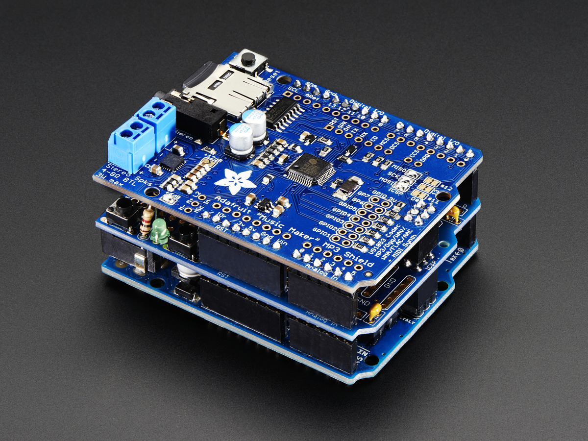 Adafruit Proto Shield for Arduino Unassembled Kit - Stack - R3 - Click Image to Close