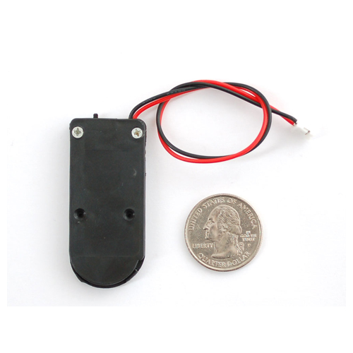 2 x 2032 Coin Cell Battery Holder - 6V output with On/Off switch - Click Image to Close