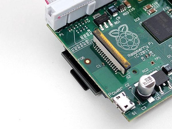 Low-Profile microSD card adapter for Raspberry Pi - Click Image to Close