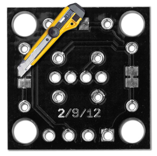 Piranha LED Breakout Board Kit - Click Image to Close