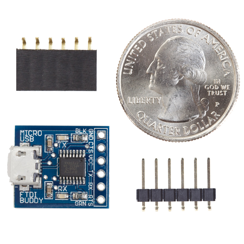 Micro USB FTDI Buddy - Click Image to Close