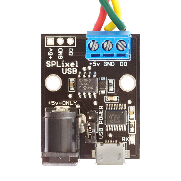SPLixel Controller USB - RGB LED Controller - Click Image to Close