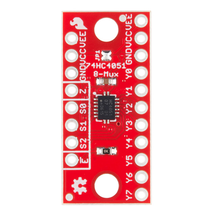 SparkFun Multiplexer Breakout - 8 Channel (74HC4051) - Click Image to Close