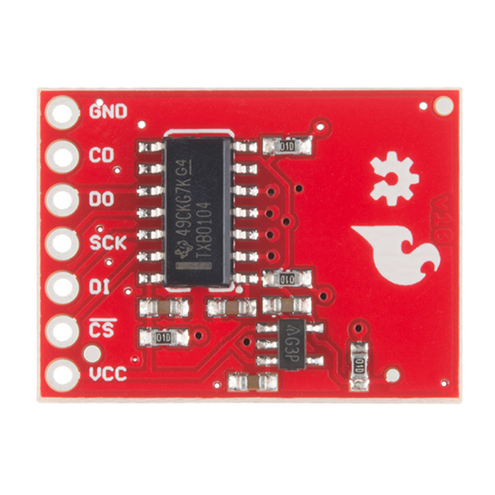 SparkFun Level Shifting microSD Breakout - Click Image to Close