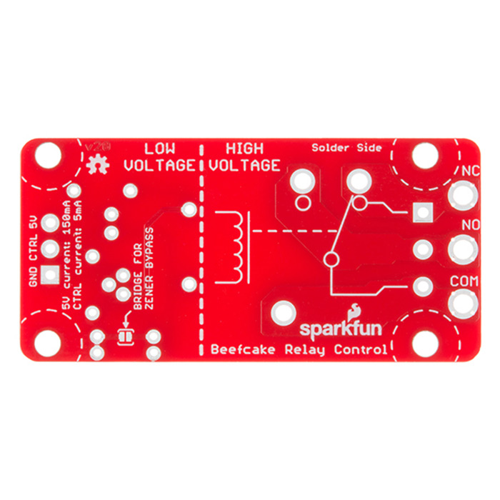 SparkFun Beefcake Relay Control Kit (Ver. 2.0) - Click Image to Close