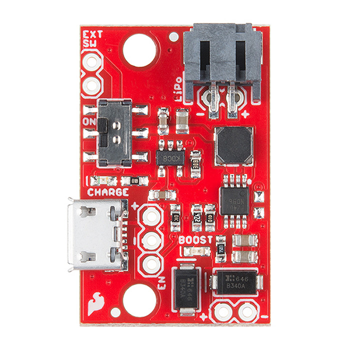 SparkFun LiPo Charger/Booster - 5V/1A - Click Image to Close