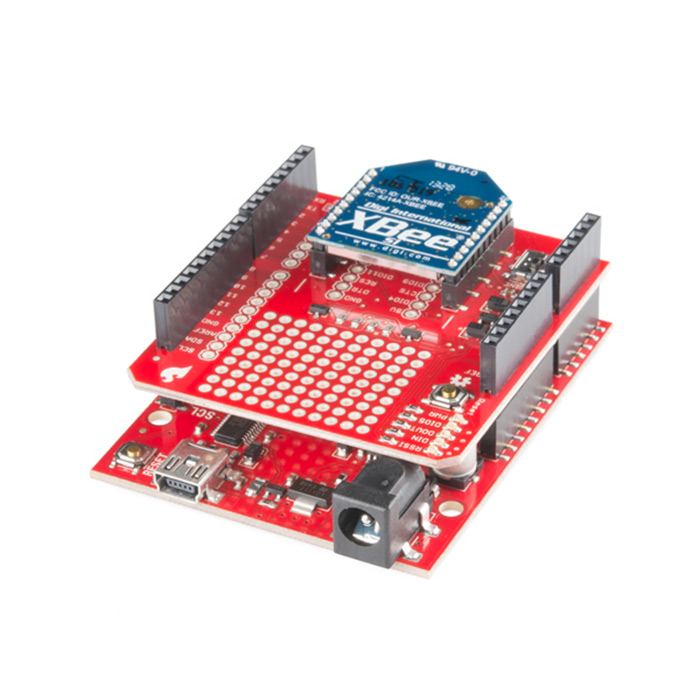 SparkFun XBee Shield - Click Image to Close