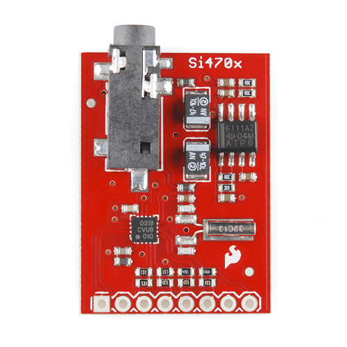 Retired - Evaluation Board for Si4703 FM Tuner - Click Image to Close