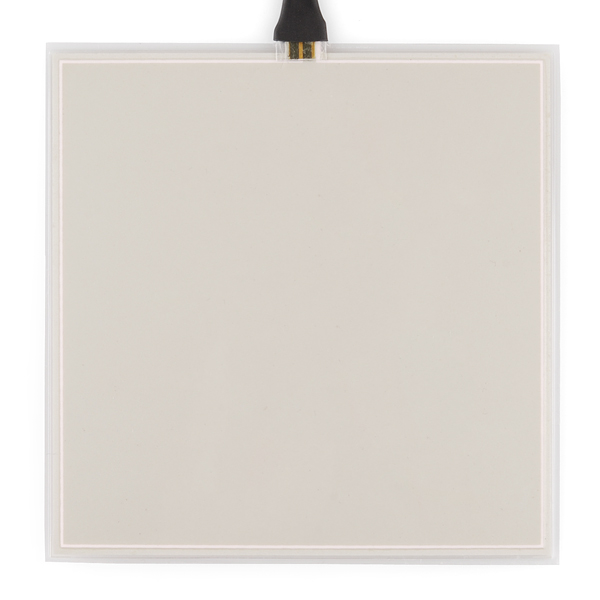 EL Panel - White (10x10cm) - Click Image to Close