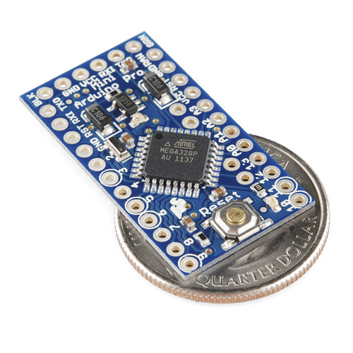 Arduino Pro Mini 328 - 5V/16MHz - Click Image to Close
