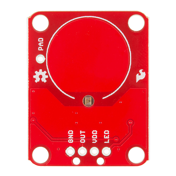 SparkFun Capacitive Touch Breakout - AT42QT1010 - Click Image to Close