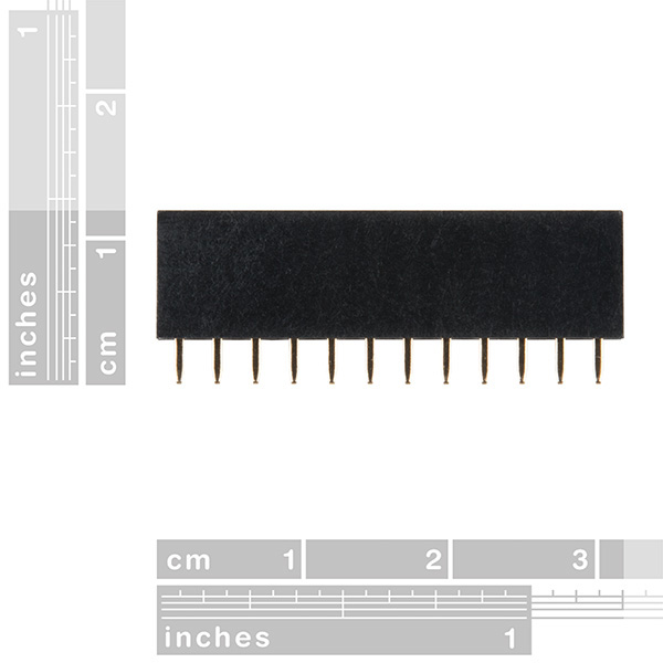 Photon Header - 12 Pin Female - Click Image to Close
