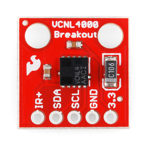 VCNL4000 Infrared Emitter Breakout - Click Image to Close