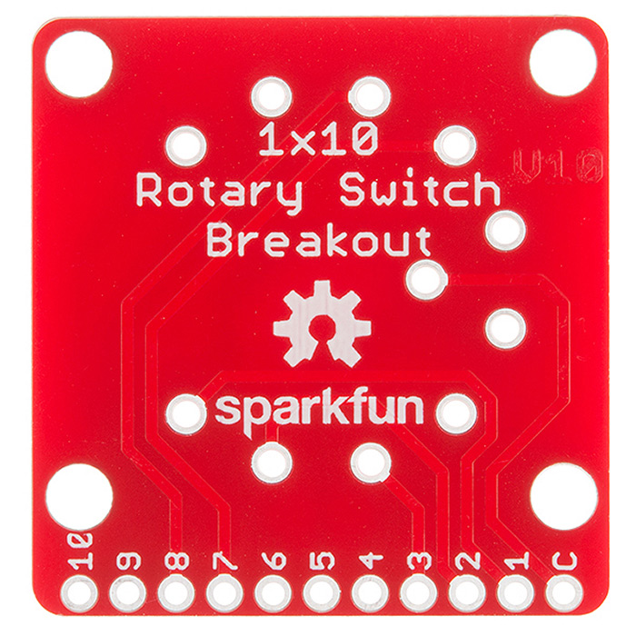 SparkFun Rotary Switch Breakout - Click Image to Close