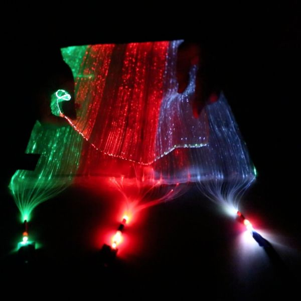 Fiber Optic Fabric - Black (40x75 cm) - Click Image to Close