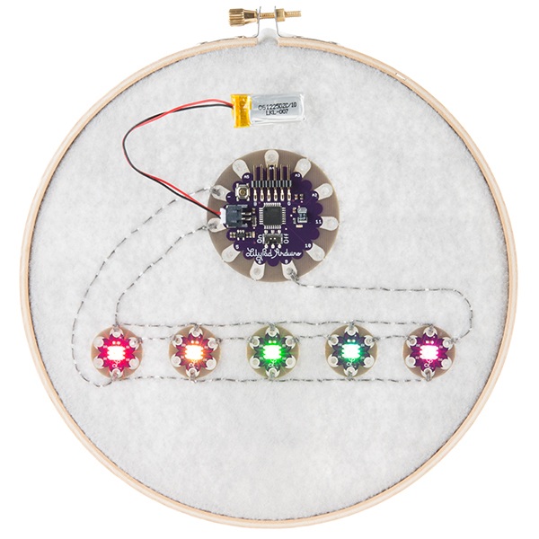 LilyPad Pixel Board - Click Image to Close