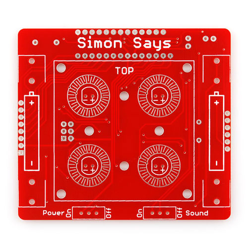 Simon Says - Through-Hole Soldering Kit - Click Image to Close