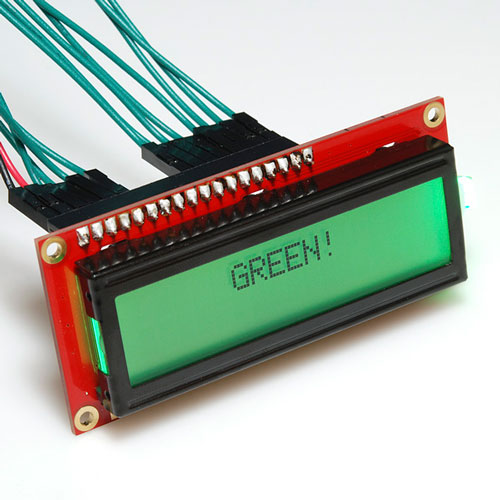 Basic 16x2 Character LCD - RGB Backlight 5V - Click Image to Close