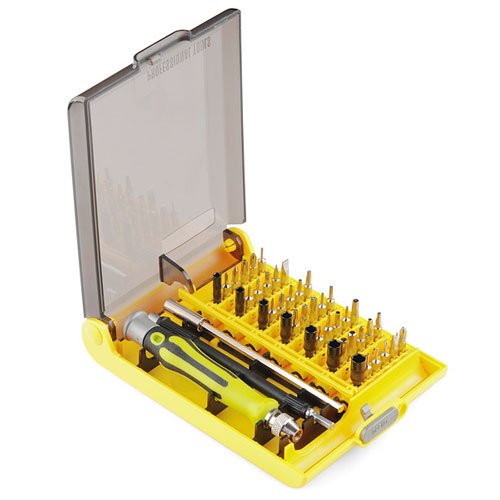 Tool Kit - Screwdriver and Bit Set - Click Image to Close