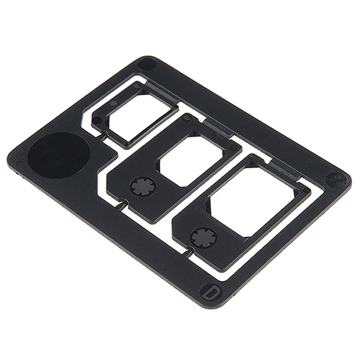 SIM Card Adapter - 3-in-1 - Click Image to Close
