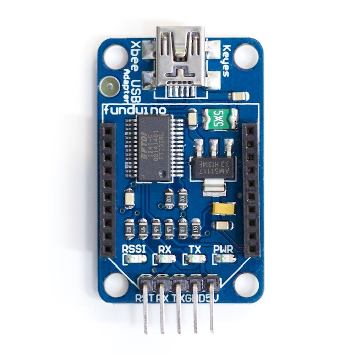 Funduino Xbee USB Adapter - Click Image to Close