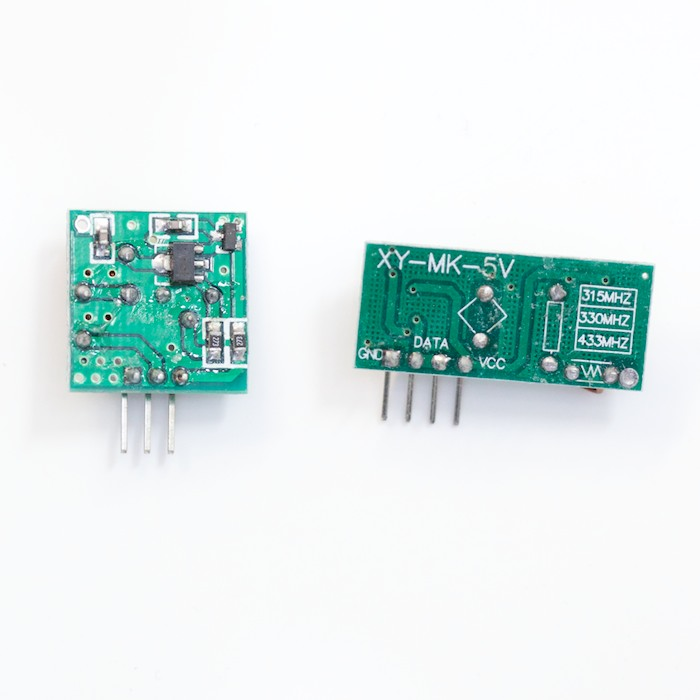 315MHz Wireless Superregeneration Sender and Receiver Modules - Click Image to Close