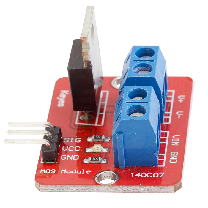 IRF520 Mosfet Driver Module - Click Image to Close