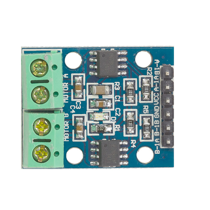 Dual H Bridge HG7881 Module - Click Image to Close