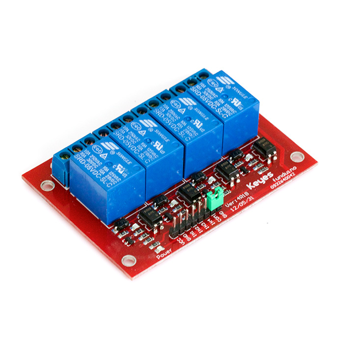 Quad Relay - Board 10A - Click Image to Close
