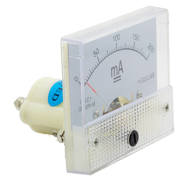 Analog Milliamp Meter (0-200ma) - Click Image to Close