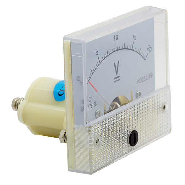Analog Volt Meter (0-20v DC) - Click Image to Close