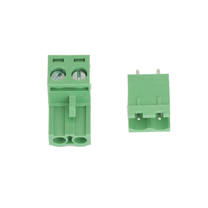 PCB Mount Screw Terminals 2EDG5.08-2P (Pair) - Click Image to Close