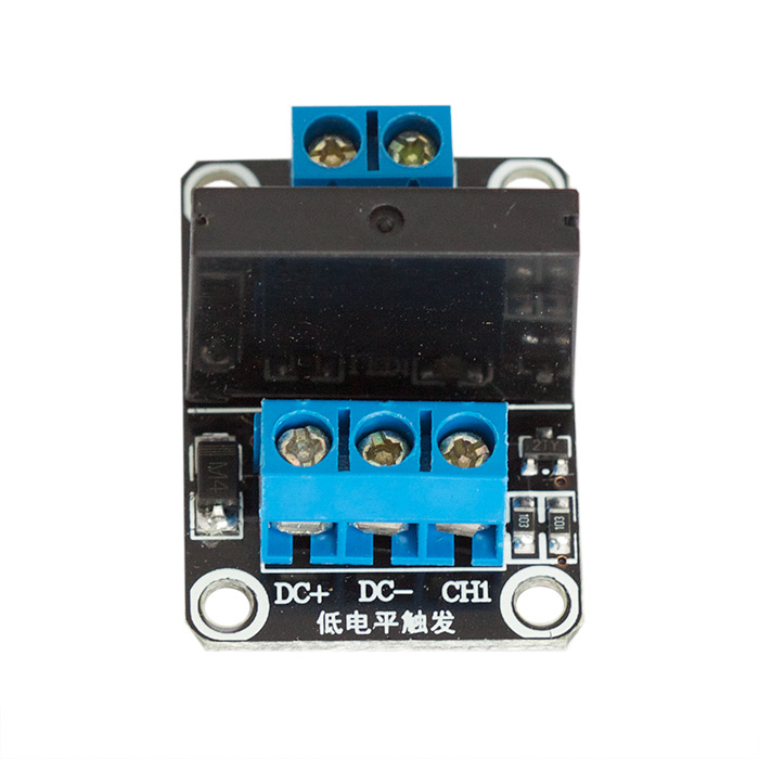 Solid State Relay Board - Assembled - Click Image to Close