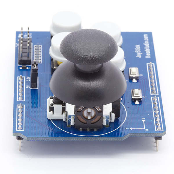 Simple Joystick and Button Shield - Click Image to Close